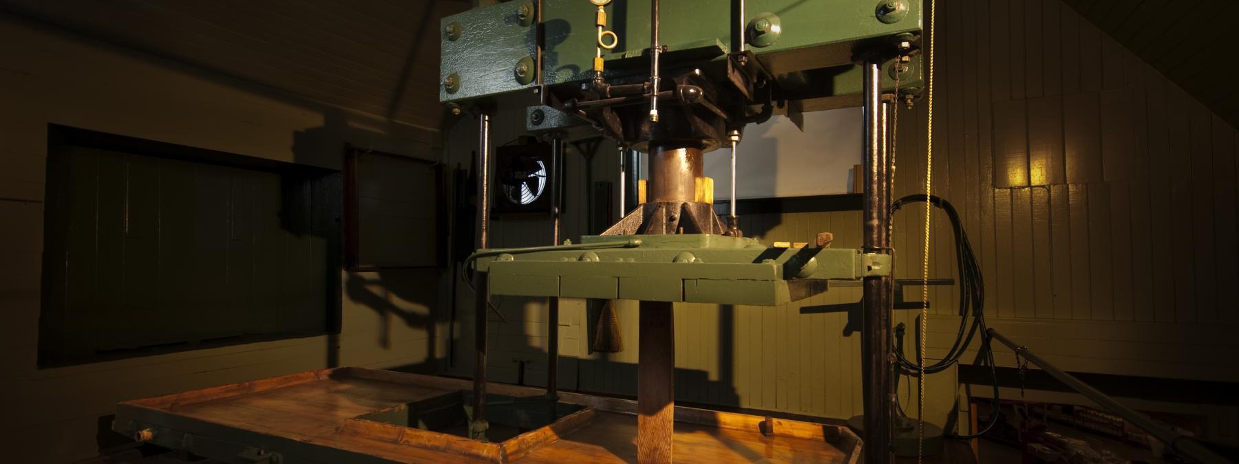 1889 Boomer & Boschert Water-Powered Press