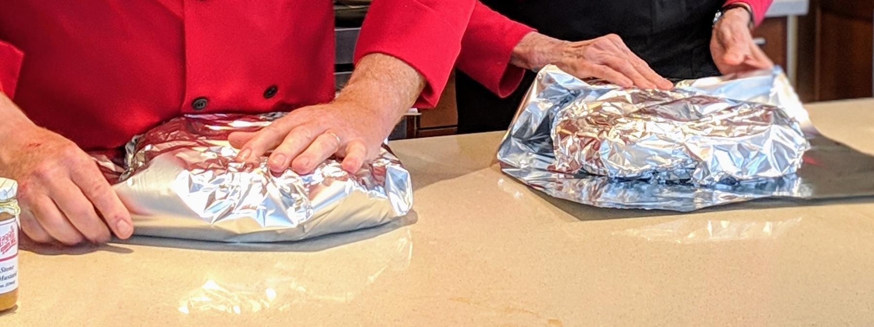 Wrap with Foil