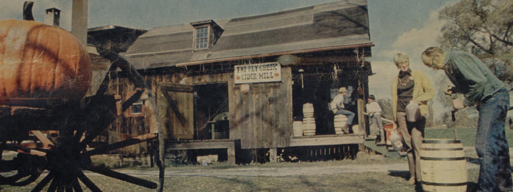 Mill re-opens 1964