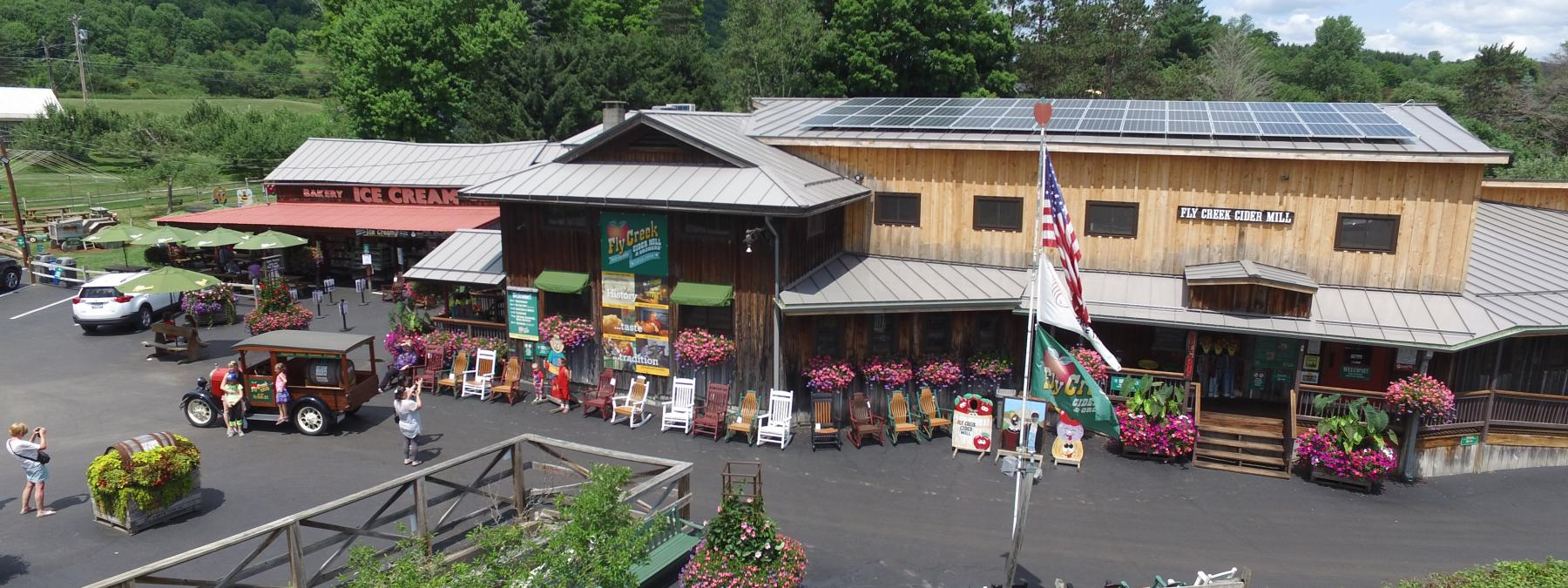 Today's Fly Creek Cider Mill
