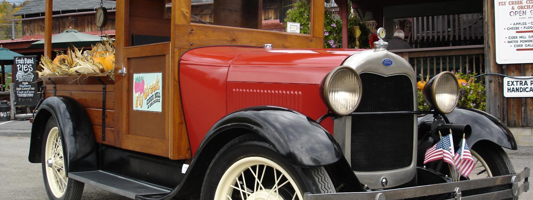 1928 Model A Huckster