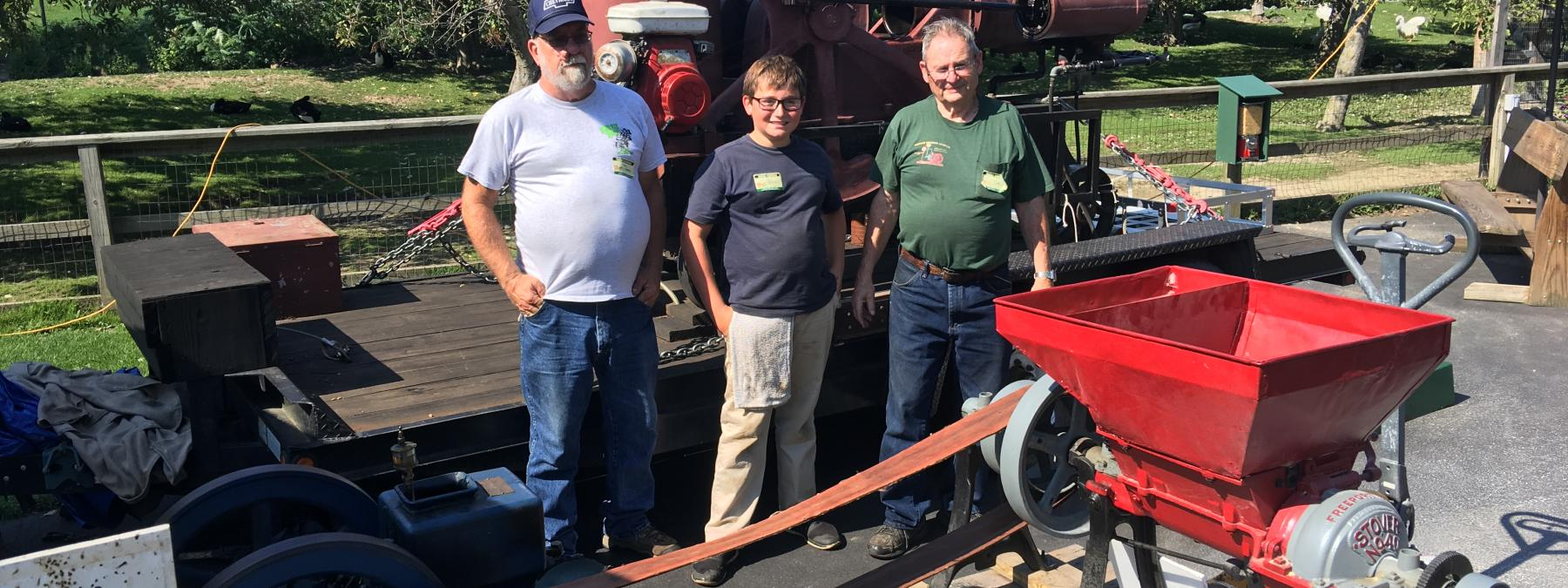 Antique Engine Show in Late August
