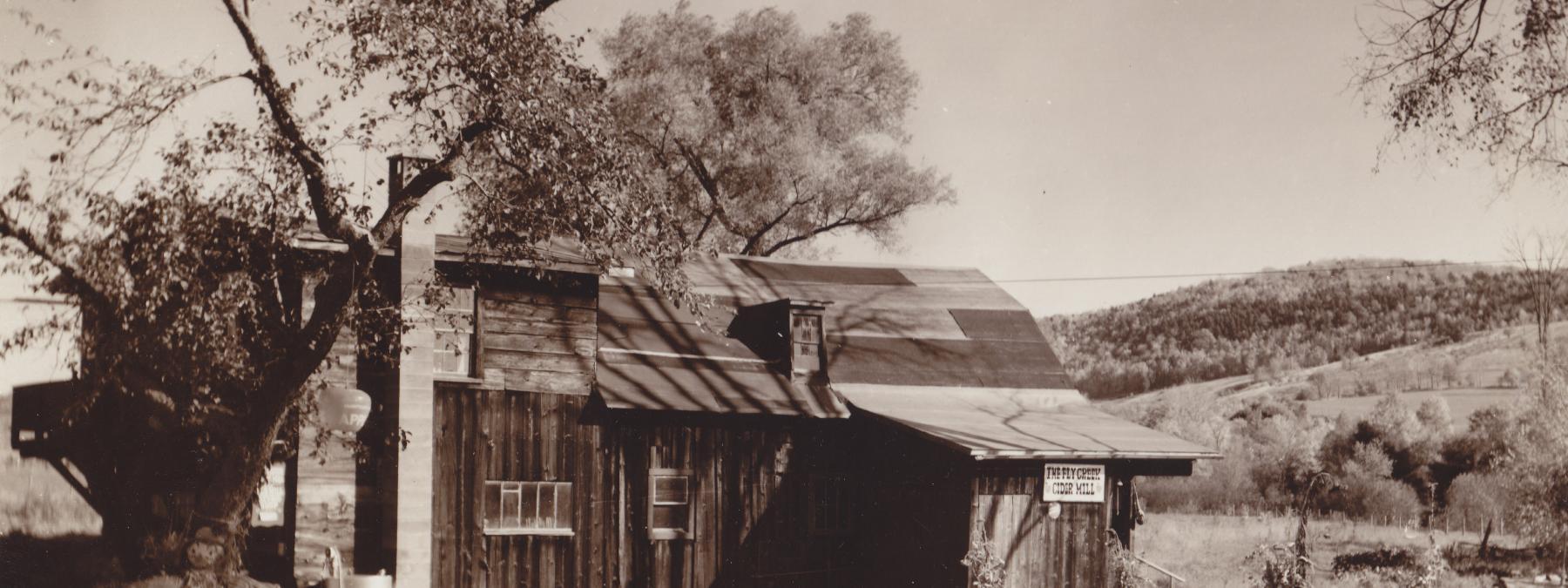 Fly Creek Cider Mill 1962