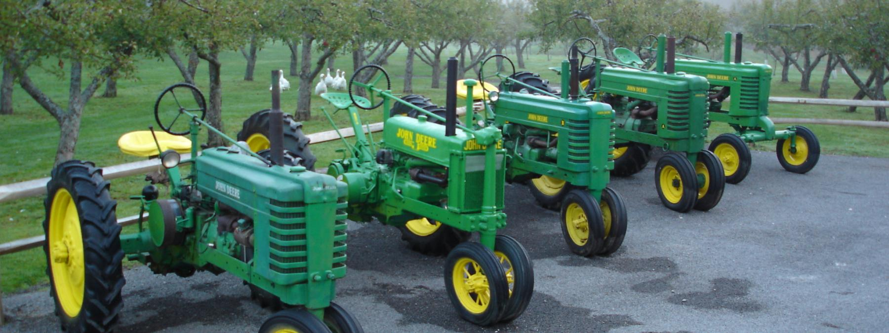 Powerful Deere's