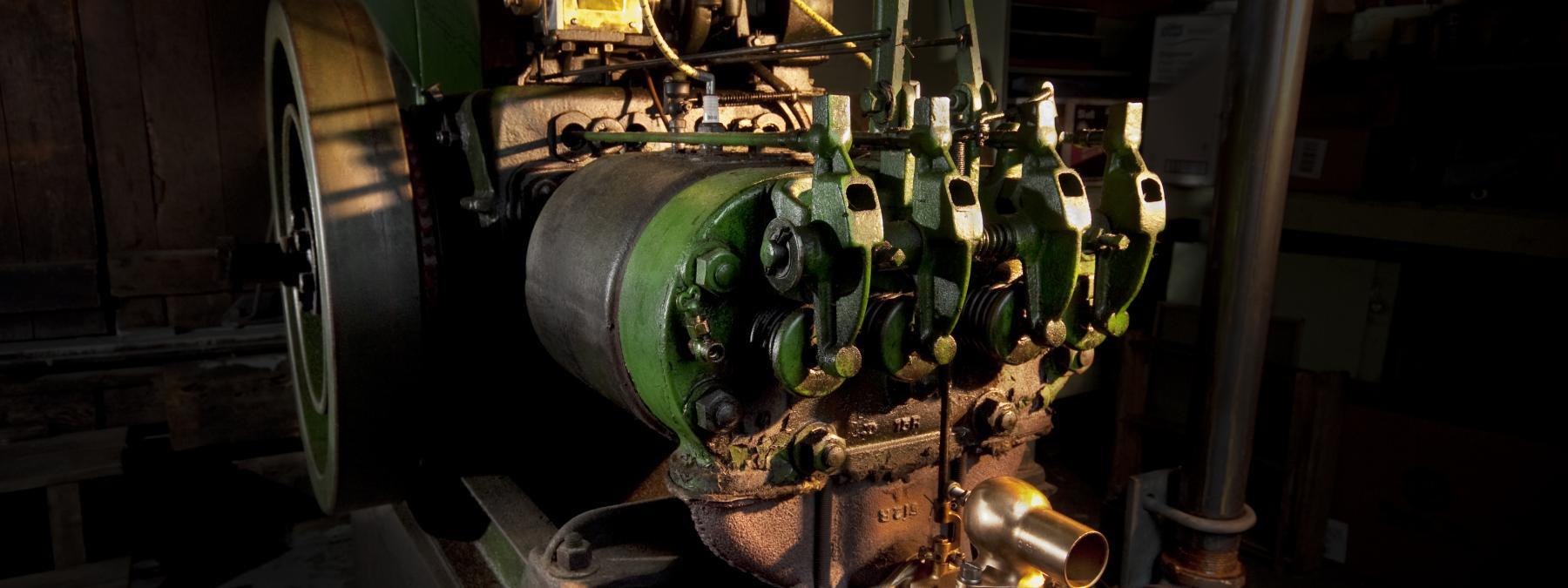 1924 Waterloo Boy Type-T Stationary Engine