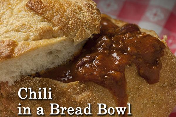 Chili in a Bread Bowl