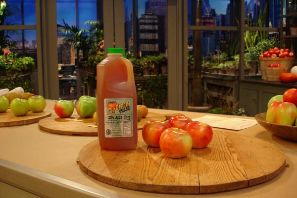 Cider on the Martha Stewart Set