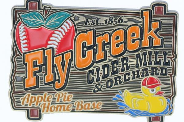 Fly Creek Cider Mill Trading Pin